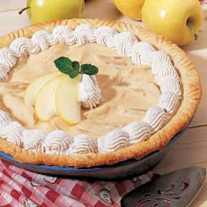 Maple Apple Cream Pie Recipe