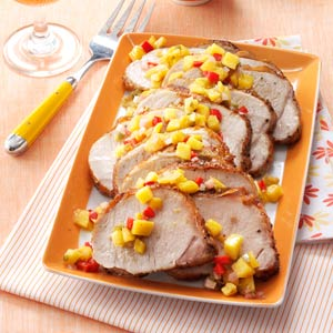 Mango Chutney Pork Roast Recipe