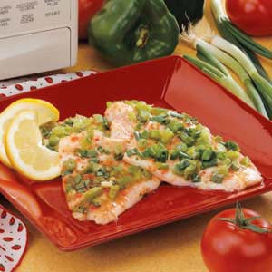 Italian Orange Roughy Recipe