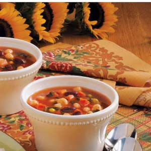 Potato Minestrone Recipe