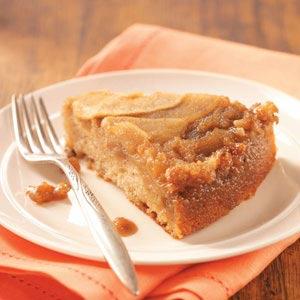 Apple Upside-Down Cake Recipe