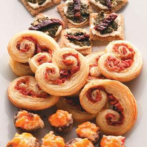 Prosciutto Pinwheels Recipe