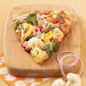 Garden Pizza Supreme Recipe