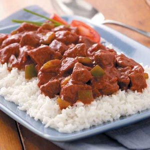 Pepper Beef Goulash Recipe