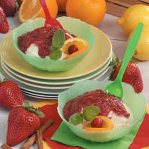 Three-Fruit Sundae Sauce Recipe