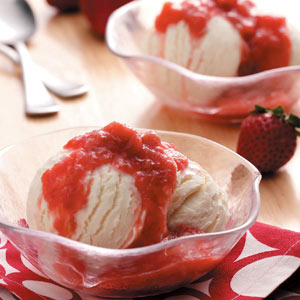 Strawberry Rhubarb Sauce Recipe