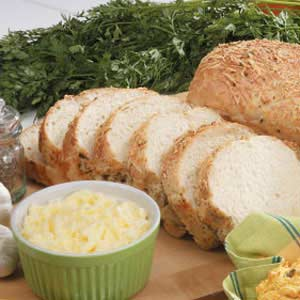 Parmesan Herb Loaves Recipe