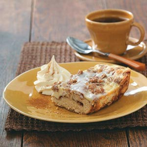 Cinnamon Roll Coffee Cake Recipe
