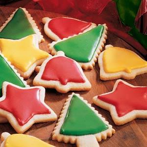 Glazed Butter Cookies Recipe