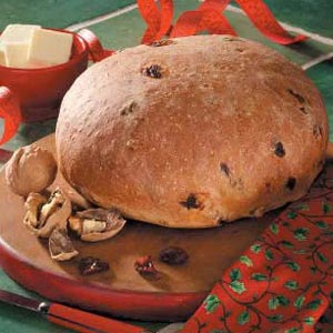 Cherry Walnut Yeast Bread Recipe