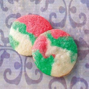 Swirled Mint Cookies Recipe