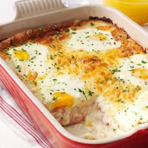 Ham, Egg & Cheese Casserole Recipe