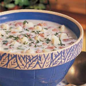 Cauliflower Ham Chowder Recipe