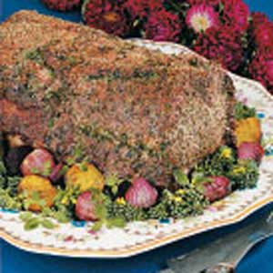 Herbed Pork Rib Roast Recipe