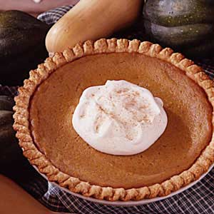 Squash Custard Pie Recipe