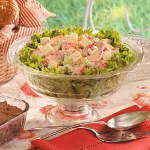 Curry-Berry Turkey Salad Recipe