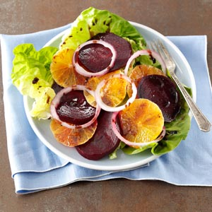 Tangerine & Roasted Beet Salad Recipe