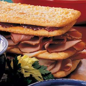 Sweet Club Sandwich Recipe