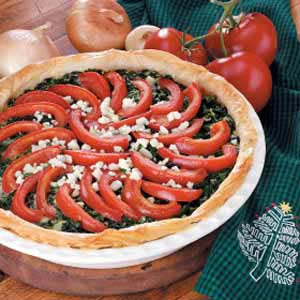 Spinach Ricotta Tart Recipe
