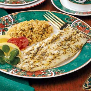 Fish Fillets with Citrus-Herb Butter Recipe