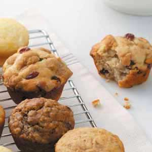 Apple Cranberry Muffins Recipe