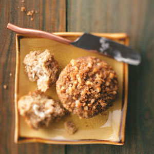 Wheat Germ Streusel Banana Muffins Recipe