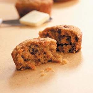Whole Wheat Carrot Muffins Recipe