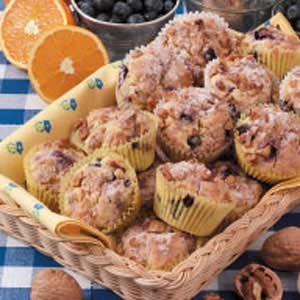 Orange Blueberry Muffins Recipe