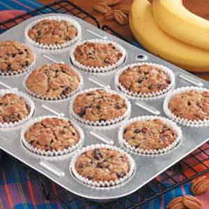 Bran Banana Muffins Recipe
