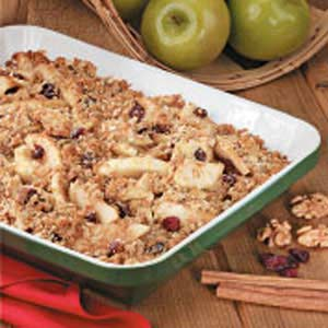 Cran-Apple Crisp Recipe