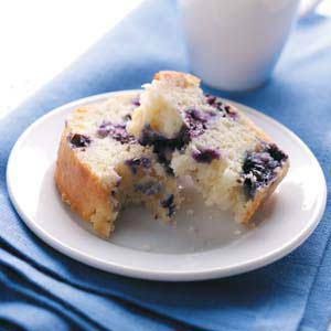 Blueberry Quick Bread Recipe