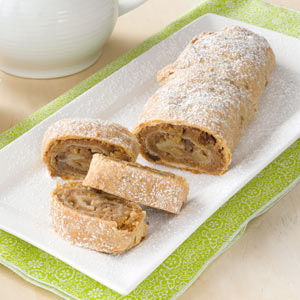 Pecan Apple Strudel Recipe