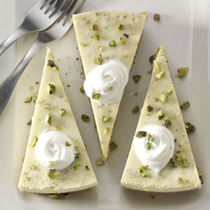 Pistachio Cardamom Cheesecake Recipe