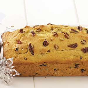 Christmas Eggnog Bread Recipe