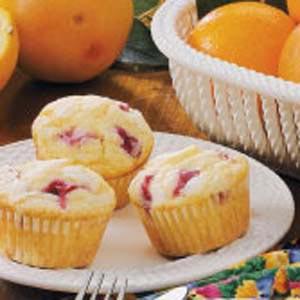 Sugared Rhubarb Muffins Recipe