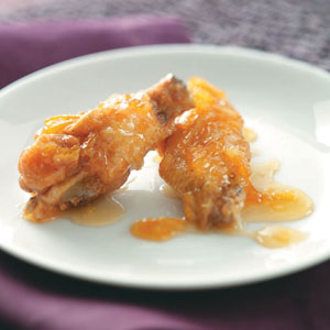 Marmalade-Glazed Chicken Wings Recipe