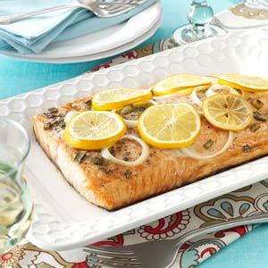 Lemon Grilled Salmon Recipe
