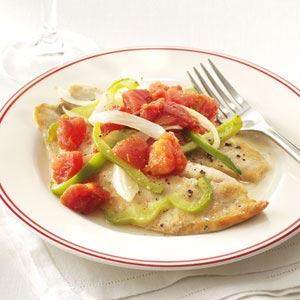 Baked Italian Tilapia Recipe