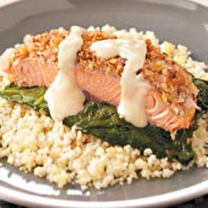 Company-Ready Crusted Salmon Recipe