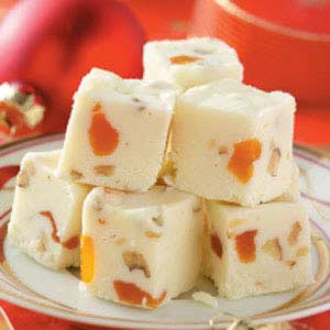 Apricot White Fudge Recipe