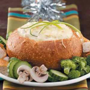 Bread Bowl Seafood Dip Recipe