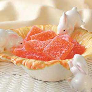 Orange Jelly Candies Recipe