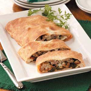 Italian Sausage Calzone Recipe
