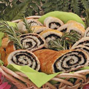 Olive Pinwheel Bread Recipe