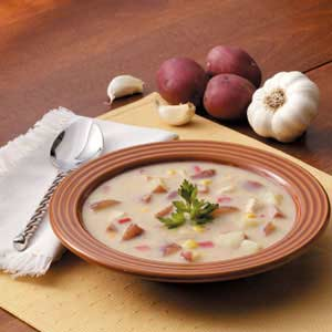 Harvest Corn Chicken Chowder Recipe