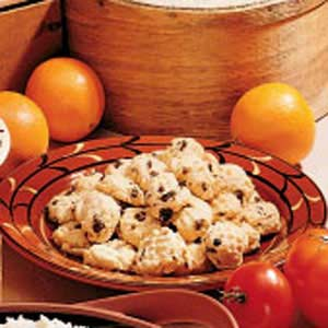 Diabetic Orange Cookies Recipe
