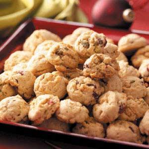 Pistachio Cranberry Cookies Recipe