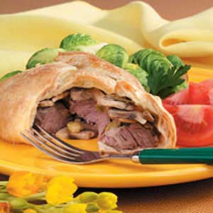 Tenderloin In Puff Pastry Recipe