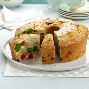 Makeover White Fruitcake Recipe