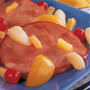 Curried Ham and Fruit Recipe